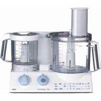 BRAUN - robot multifonctions 2l 600w + bol 0.75l blanc - k700 white