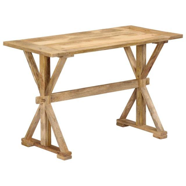 Distingué Tables categorie Vienne Table de salle à manger 140x70x76 cm Bois de manguier massif