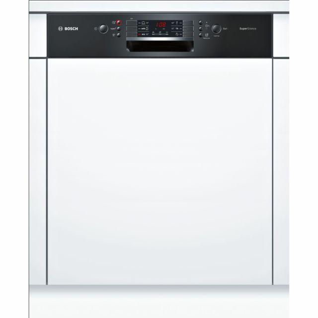 Bosch lave-vaisselle intégrable 60cm 13c 44db a++ noir - smi46jb03e