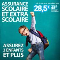 CARREFOUR - Assurance scolaire et extra-scolaire 3 enfants et plus