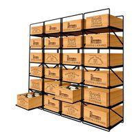 Modulorack - La seule solution pour stocker 24 caisses de vins et 288 bouteilles - Aci-mod501L