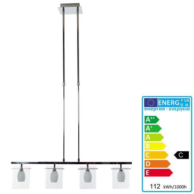 Mendler Lampe suspension, Hw113, 4 flammes