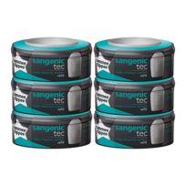 SANGENIC - Multipacks de 6 recharges pour poubelle