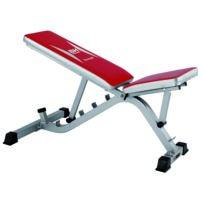 BH Fitness - St5850 G585 Banc multipositions. 2 positions de réglage du siège