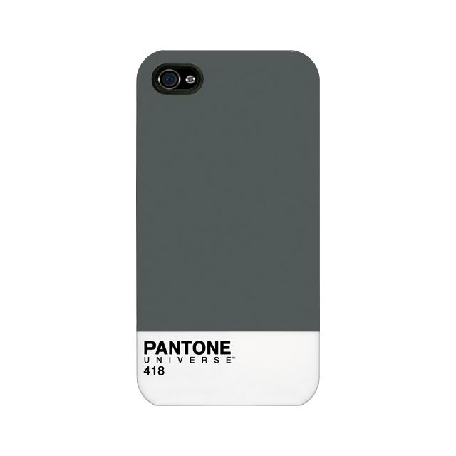 Pantone - Coque rigide grise pour iPhone 4 4S - pas cher Achat   Vente Coque,  étui smartphone - RueDuCommerce f5dc632b377e