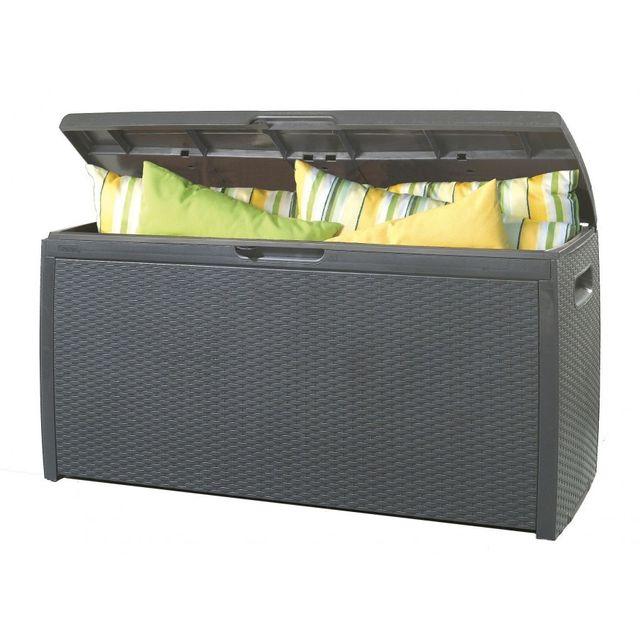 keter coffre resine tropic pas cher achat vente coffre de jardin rueducommerce. Black Bedroom Furniture Sets. Home Design Ideas