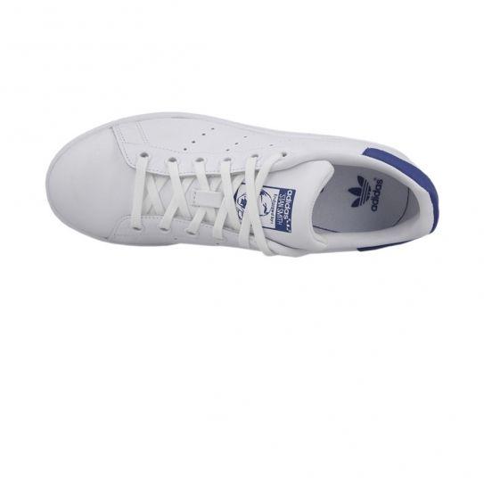 Adidas originals - Chaussures Stan Smith Blanc/Bleu Jw e17