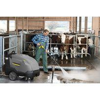 KARCHER - Nettoyeur haute pression HDS 13/20-4SX+ eau chaude 1300 l/h 200 bars avec enrouleur - 10719320