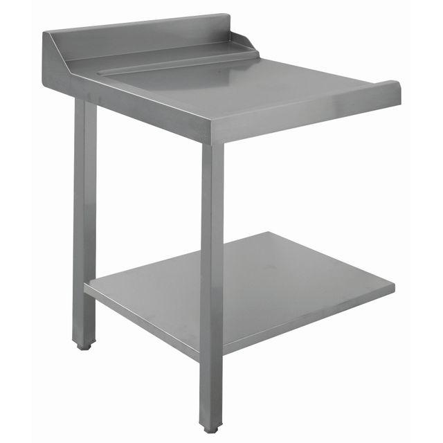 Bartscher Table glissement gauche
