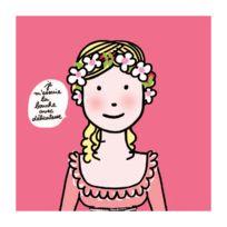Arty Frog Paris - Serviettes en papier Les princesses : Je m'essuie la bouche avec délicatesse