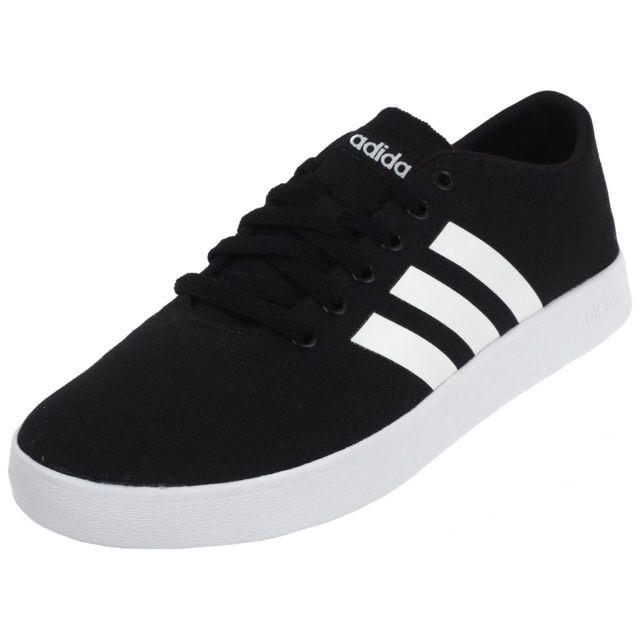785920cc92b Adidas Neo - Chaussures mode ville Easy vulc 2.0 cblack Noir 76444 - pas  cher Achat   Vente Baskets homme - RueDuCommerce