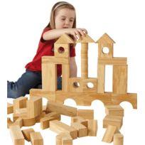 - jeu de construction imitation bois, 68 pièces