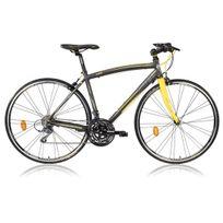 Lombardo - Vélo Fitness Homme Ventimiglia 2200 Anthracite/jaune 2017 48 Cm