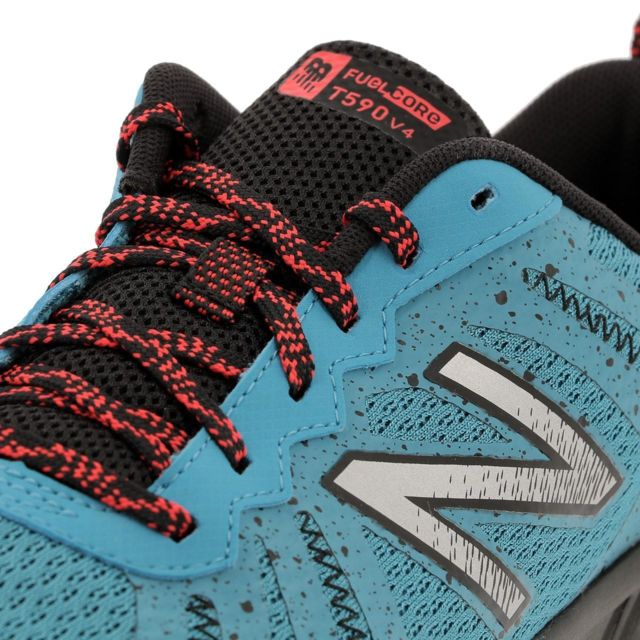 new balance chaussures de cross mt 590 v4 trail femme bleu