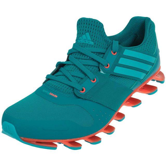 grossiste ff113 3c4d9 Adidas - Chaussures running Springblade solyce Vert 74639 ...
