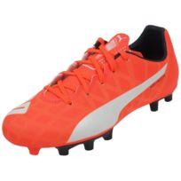 Puma - Chaussures football moulées Evo spedd 5.4 fg jr Orange 41904