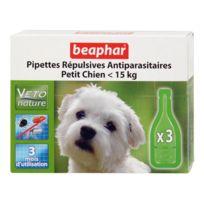 DIFAC - Pipettes répulsives antiparasitaires petit chien Lot de 3