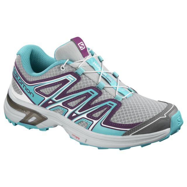 09eb68ef98e Salomon - Chaussures femme Wings Flyte 2 Violet foncé - N A - pas cher  Achat   Vente Chaussures trail - RueDuCommerce