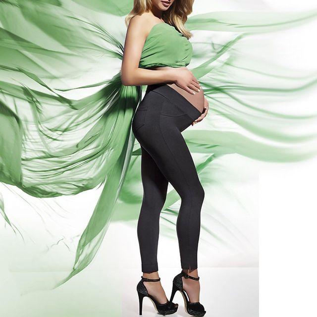 Bas Bleu - Legging femme enceinte Laura Noir - 44 46 - pas cher ... 34ca634523a