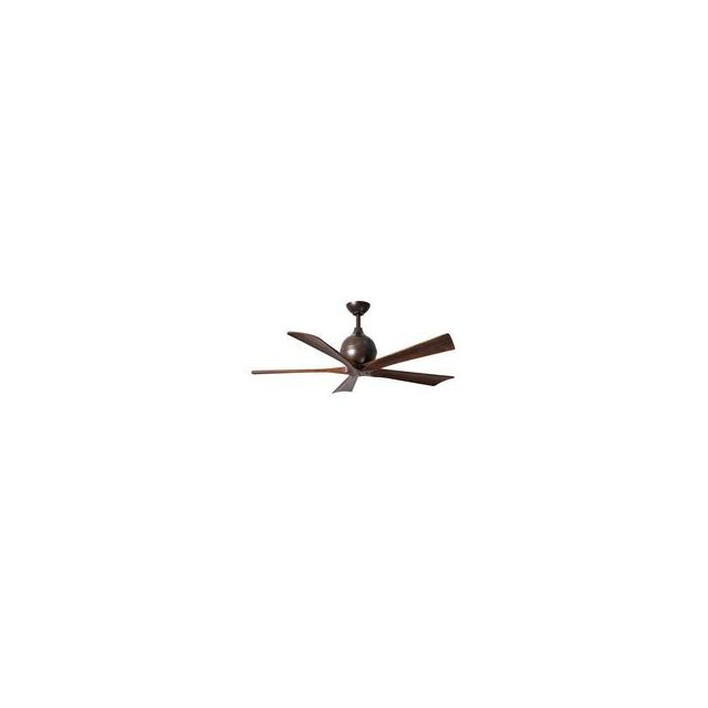 Ventilateur de plafond Irene 5H 132cm Nickel Noyer