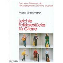 Ricordi - Leichte Folklorestücke - Guitare