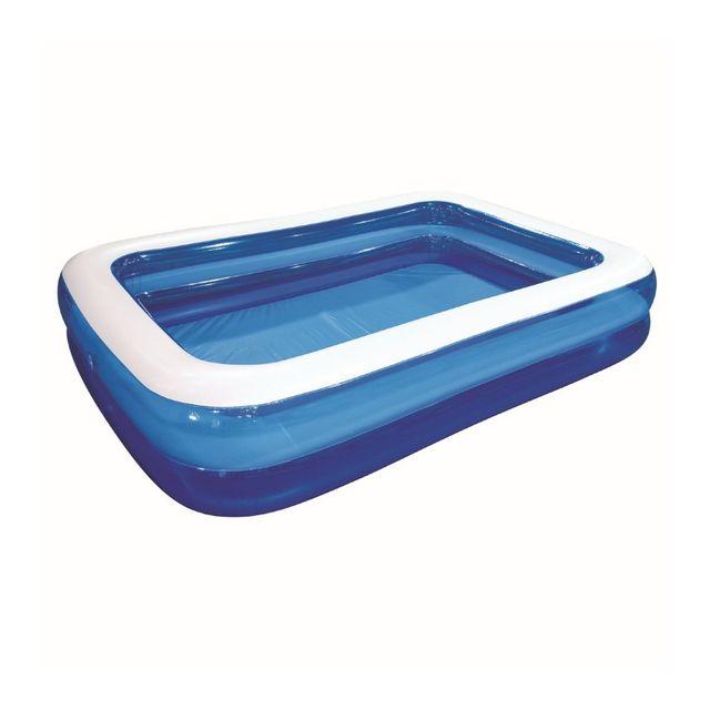 carrefour piscine gonflable familiale 3 boudins l 3 05m x l 1 83m x h 0 50m. Black Bedroom Furniture Sets. Home Design Ideas