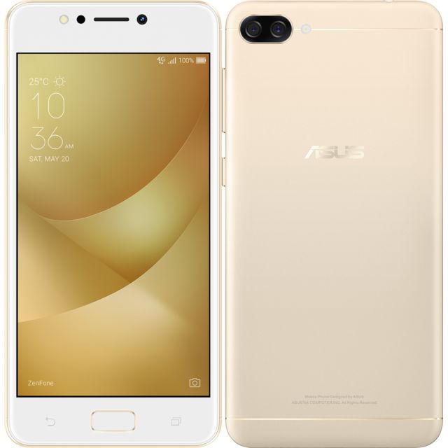 asus zenfone 4 max zc520kl or pas cher achat vente smartphone android android. Black Bedroom Furniture Sets. Home Design Ideas