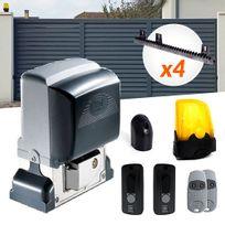 CAME - Kit motorisation portail coulissant Bx-74 U2593 - 400kg + 4m de crémaillères