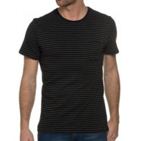 Casual Friday - T Shirt Homme Rayé Col Rond