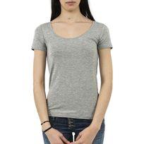 Only - Tee shirt 15109396 jewel gris