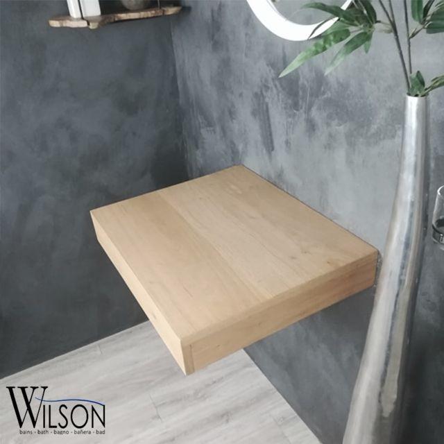 Wilson - Plan suspendu Monica 60 cm Chêne rustique - pas cher Achat ...