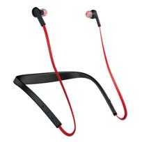 JABRA - Halo Smart - Casque Intra auriculaire Tour de cou sans fil Bluetooth - Noir / Rouge