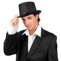 Chapeau haut de forme de gala noir adulte - taille - Taille Unique - 174376 1a773f350da