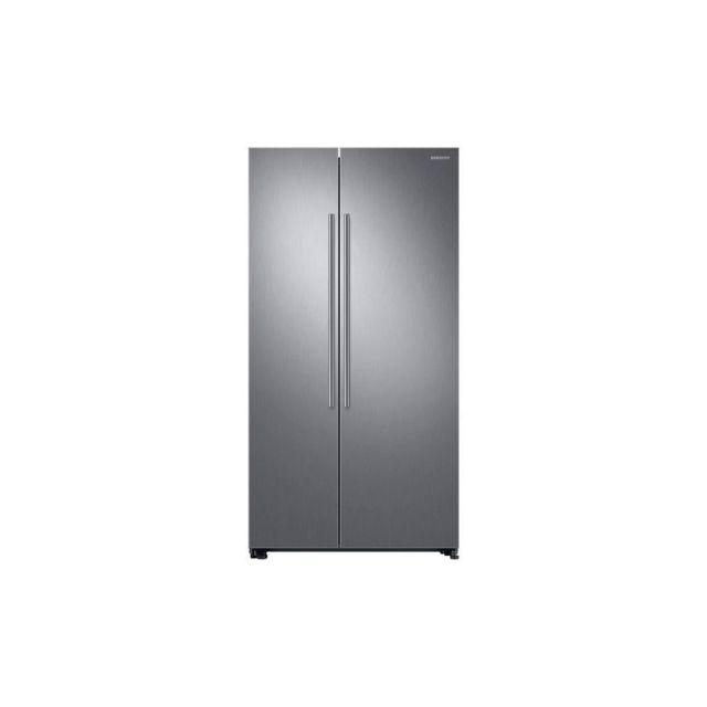 Samsung Rs66n8100s9 - Refrigerateur Americain - 647 L 411l + 236l - Froid Ventile Plus - A+ - L 91,2 X H 178 Cm - Inox