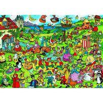 JAMES HAMILTON - Puzzle 300 pièces - Les personnages des contes pour enfants