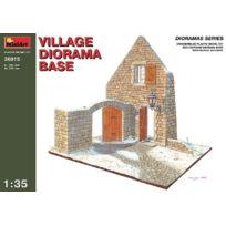 Miniart - 1:35 - Village Diorama Base - Min36015