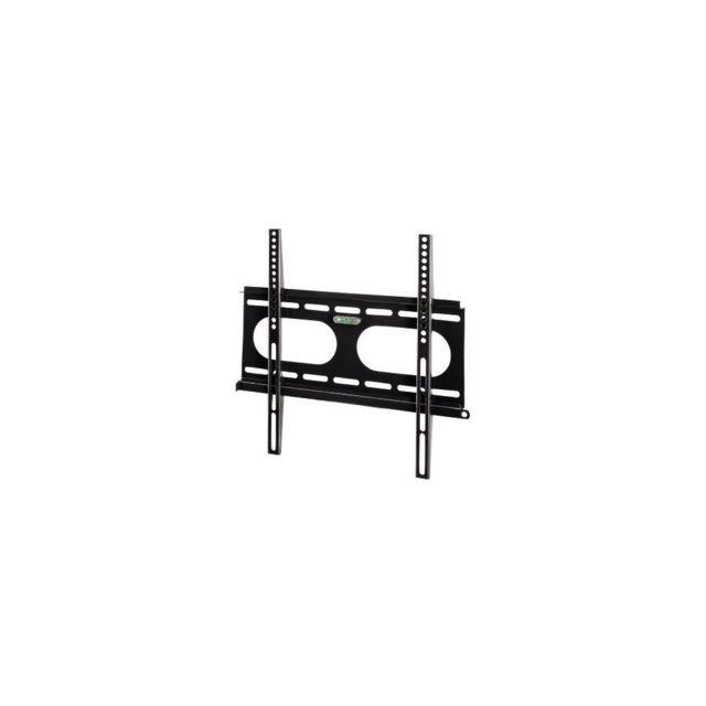 hama 00011757 support mural fixe pour tv 400 x 400 noir pas cher achat vente support. Black Bedroom Furniture Sets. Home Design Ideas