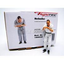 Figutec - Figurines Mecanicien Mercedes - Change les bougies - 1/18 - 180034