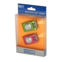 Mighty Bright - Green And Pink Led Microclip Light