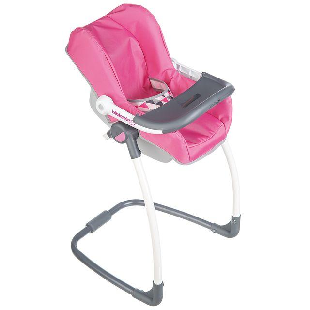smoby bebe confort 3 en 1 chaise haute balancelle. Black Bedroom Furniture Sets. Home Design Ideas