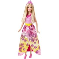 Mattel - Poupée Barbie : Princesse rose