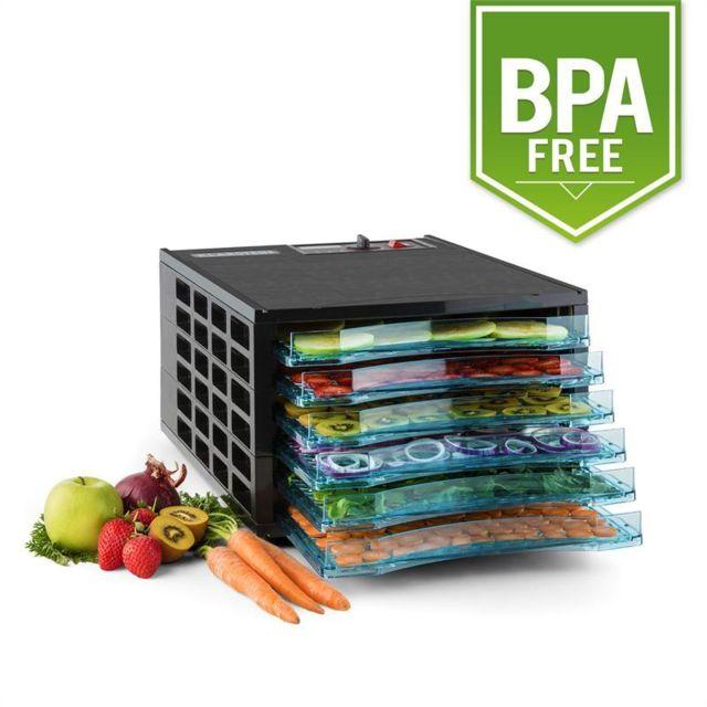 KLARSTEIN Fruit Jerky 6 Déshydrateur alimentaire 630W 6 étages sans BPA