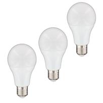NITYAM - Lot de 3 ampoules LED standard E27 12W 1050 Lumens - Couleur Chaude 3000K - Classe énergétique A