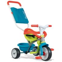Smoby - Tricycle Be Move Confort Bleu