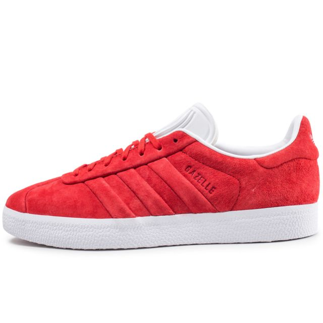 magasin d'usine 8197b 7fdba Adidas originals - Gazelle Stitch And Turn Rouge - pas cher ...