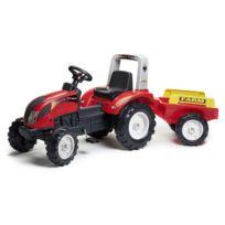 Falk - Tracteur a Pédales Ranch Trac + Remorque
