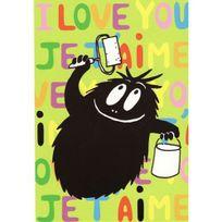 Petit Jour Paris - Carte simple I love you Barbouille - Petit Jour