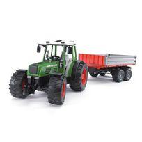bruder tracteur fendt 209 avec remorque