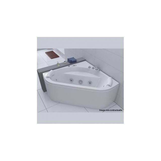 ouest balneo baignoire d 39 angle balneo rectangulaire 140x140 pas cher achat vente baignoire. Black Bedroom Furniture Sets. Home Design Ideas
