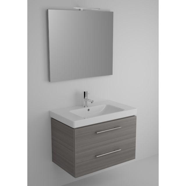 Riho Ensemble meuble & lavabo Altare Set 31 en bois laqué brillant 80x47 x H56,5 cm